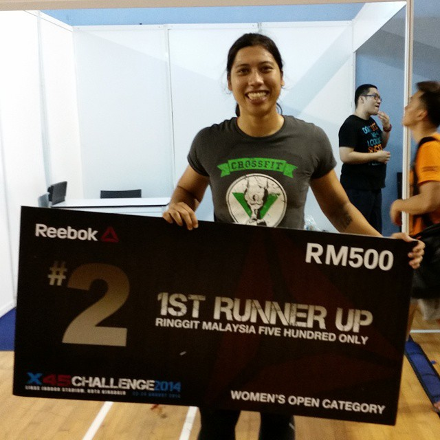 Maslina won 1st Runner Up in Reebok X45 Challenge 2014