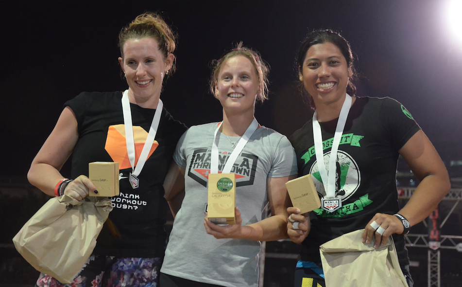 Stepping stone to success, Maslina won 3rd place at the Manila Throwdown in May 2014