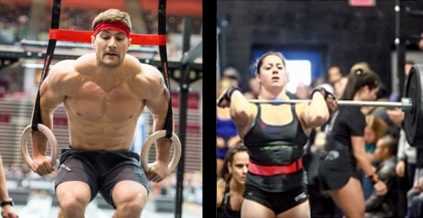 Urankar and Charron win  CrossFit Games 15.1/15.1A