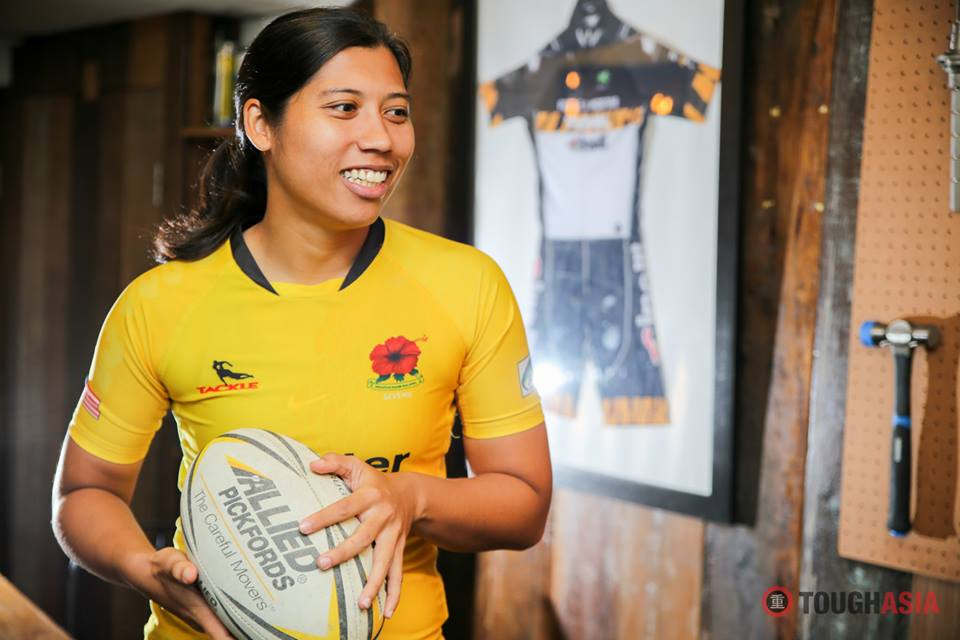 Maslina Ahmad will play the forward for Malaysia's Rugby 7s women team