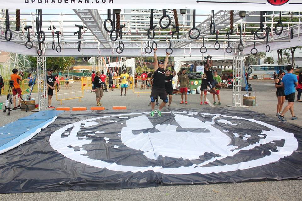 Monkey Bars at Spartan Race Singapore. Photo from Spartan Race SG