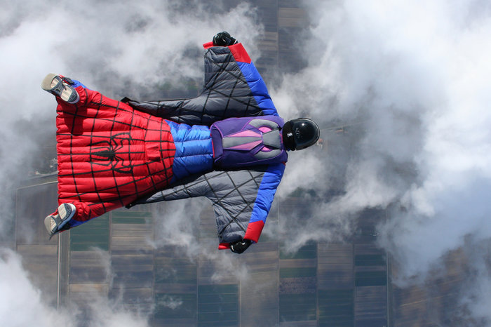 And now, Spidey can fly! Image from Redbull.com