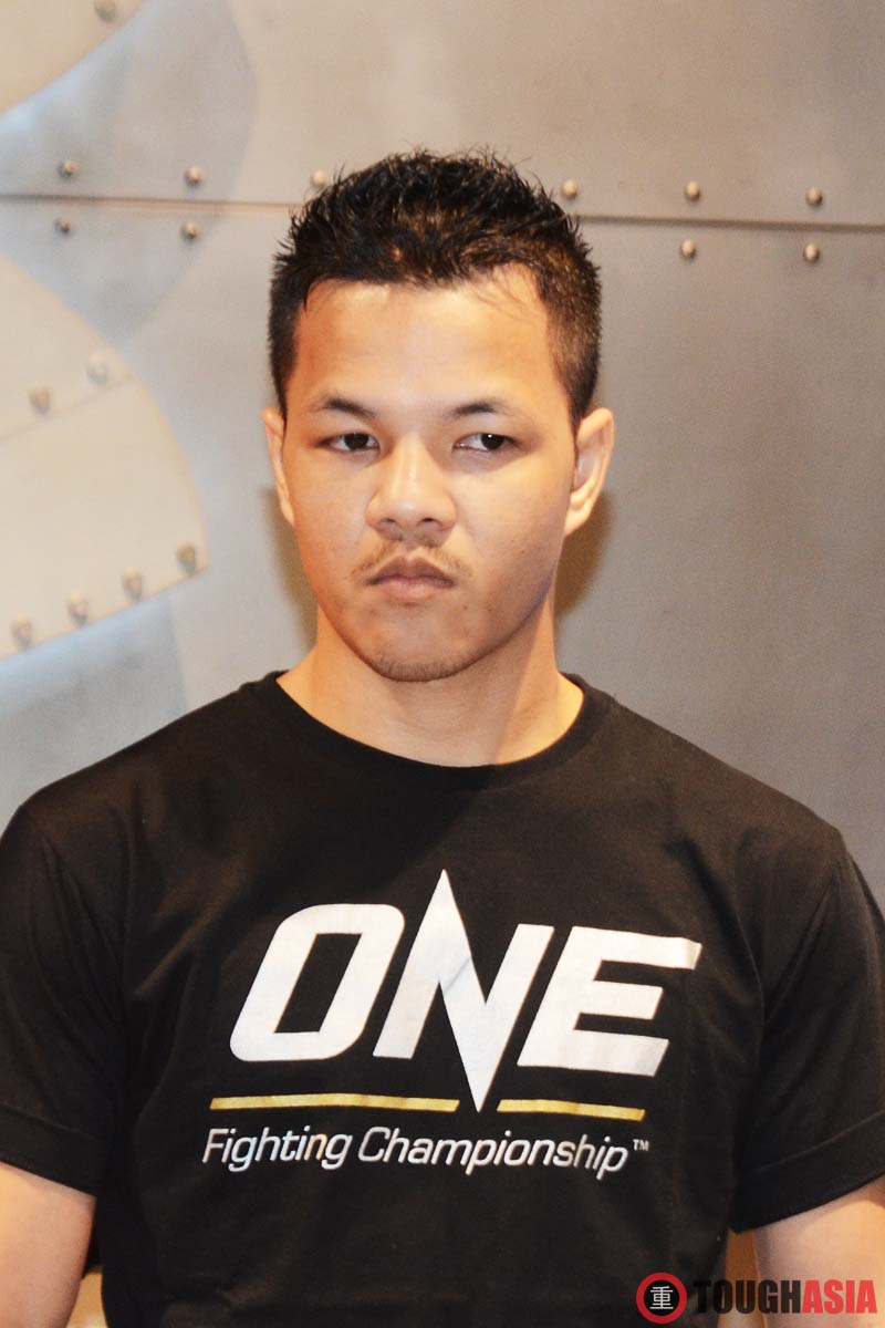 Saiful Merican with his Game Face on.