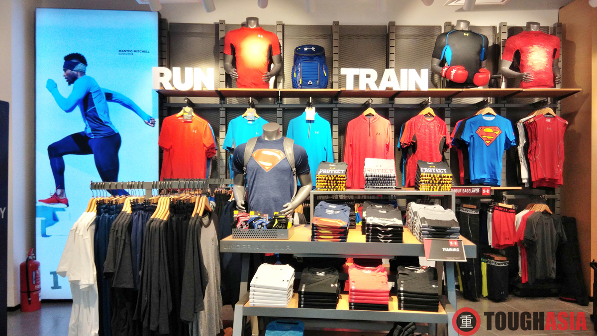 Under Armour Queensbay Mall, Penang