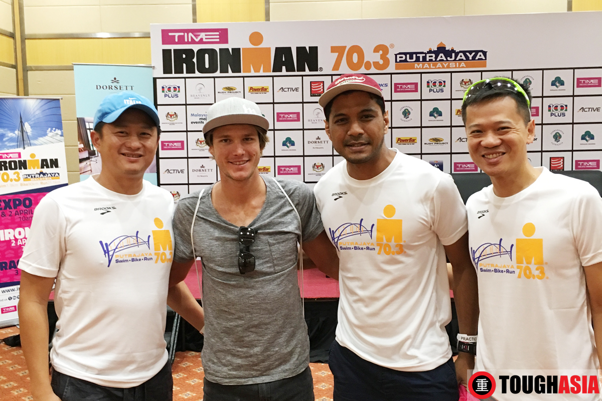 Team Tough Asia took Josh Amberger's best advise in hand for race day.