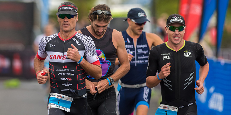 Craig Alexander created a new course record at the Ironman 70.3 Busselton, South Africa. (Ironman.com)