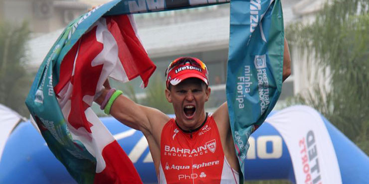 Brent McMahon recorded the second fastest IRONMAN in history in winning the South American Championships. (Ironman.com)