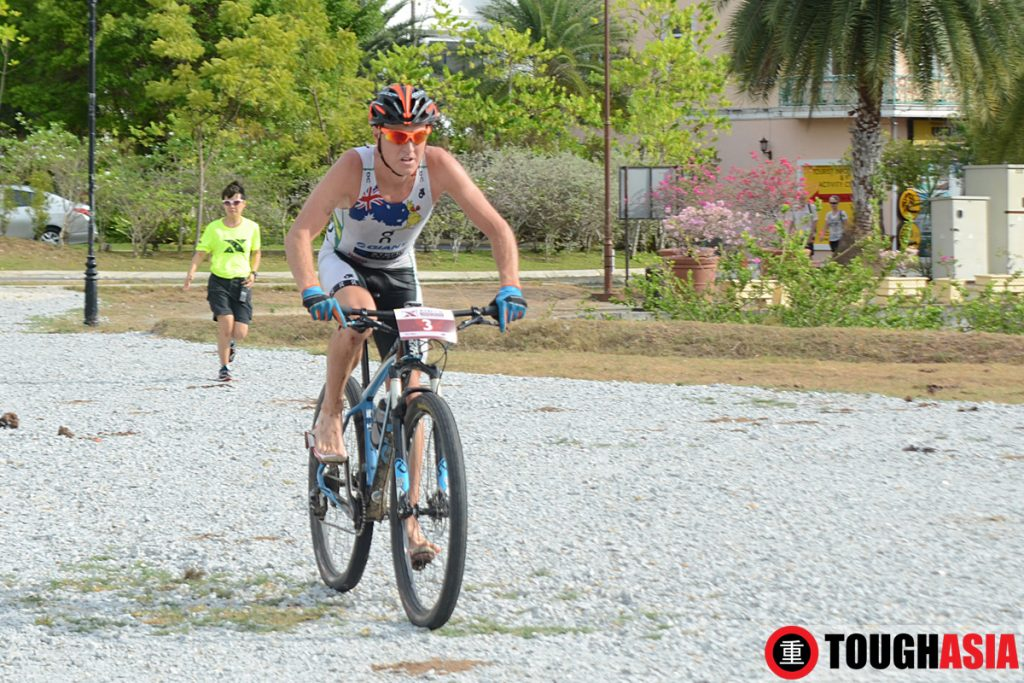 Ben Allen kept a stunning lead from start to finish to sweep Xterra Malaysia and the 2015-16 XTERRA Asia-Pacific Tour Title.