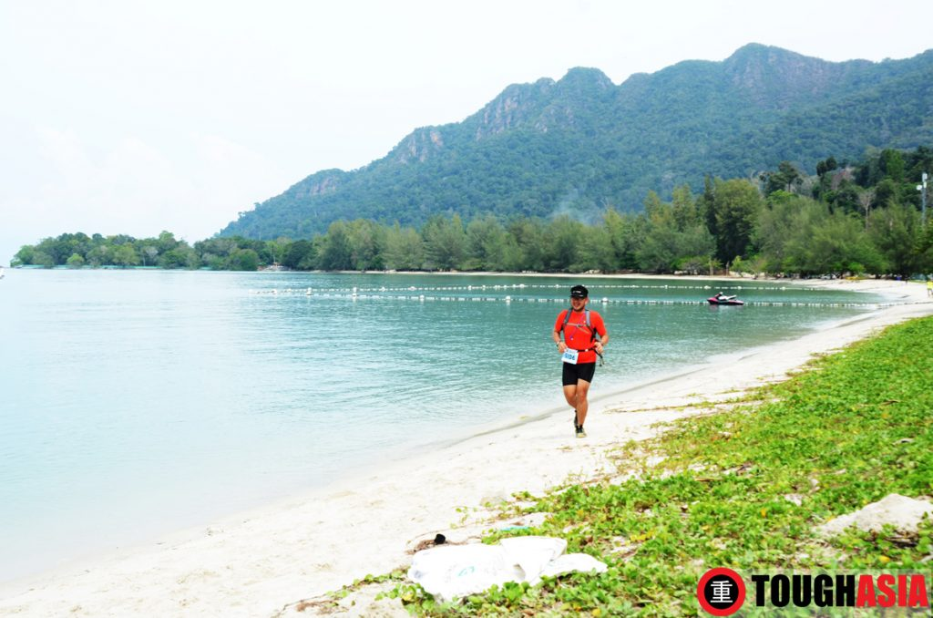 Mount Mat Chinchang provides a majestic backdrop to Xterra when run into the finish line.