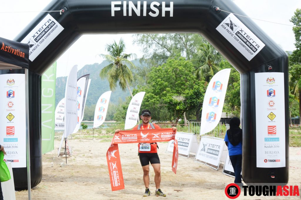 Hailing his Warrior spirit within him, Richard finished the challenging but fulfilling Xterra Malaysia's 21km Trail Run.