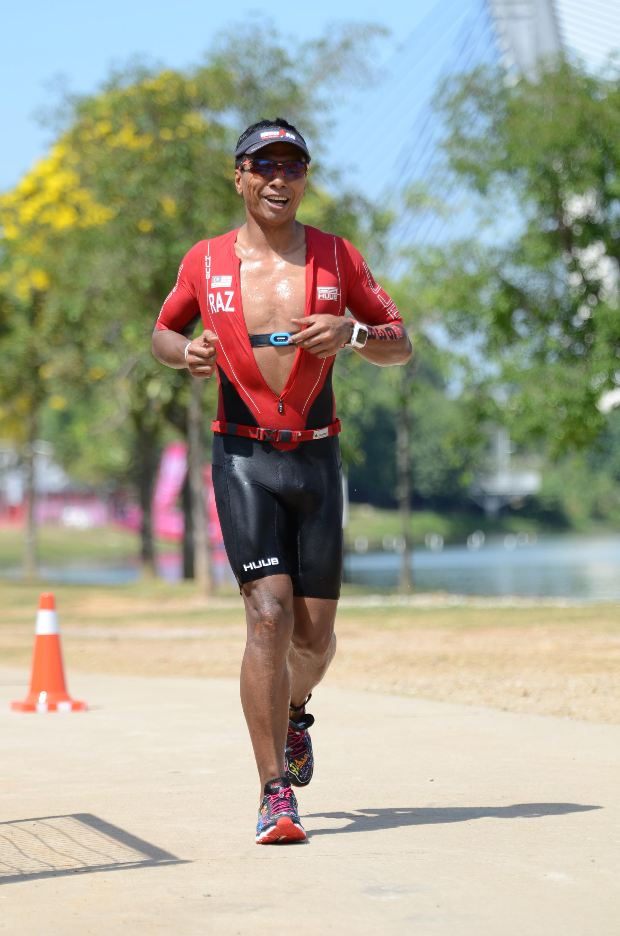 I like to train with strong people as it will make you push and work harder - Dato' Razlan. (Finisher Pix)