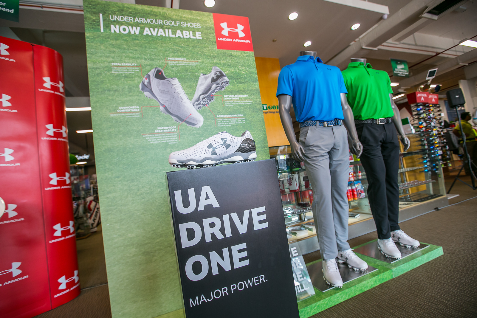 The UA Drive One was officially launched at MST Superstore Subang Jaya.