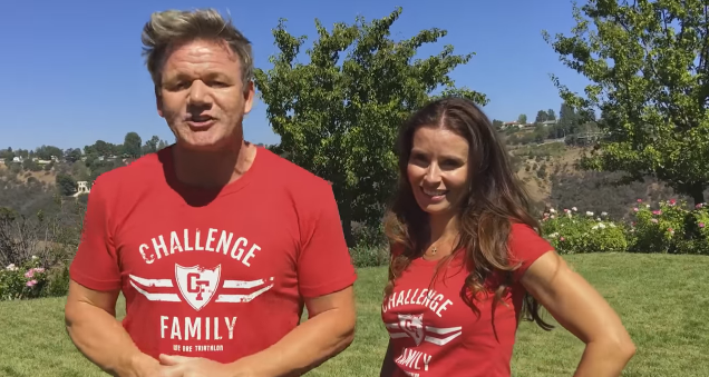 Gordon and Tana Ramsay team up with Challenge Family for a good cause.