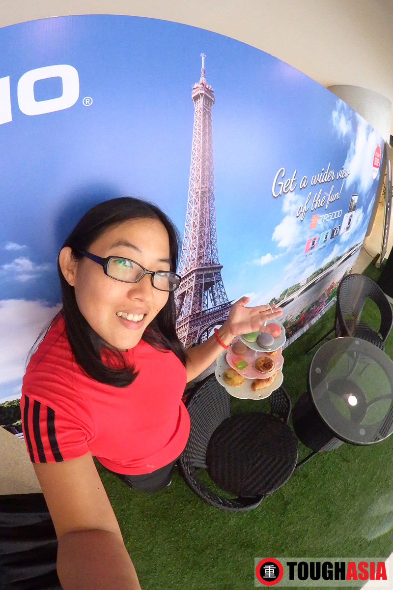 Loving the Super Wide Angle, great for taking selfies on the new Casio Exilim FR200. #selfieiscasio