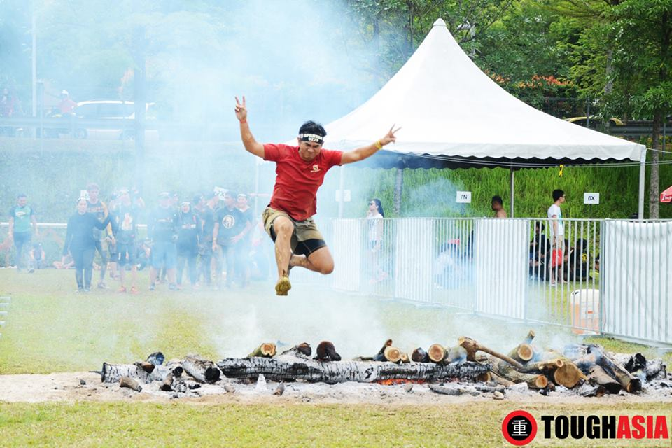Tan Lian Meng called on team spirit to complete his  Spartan Trifecta.