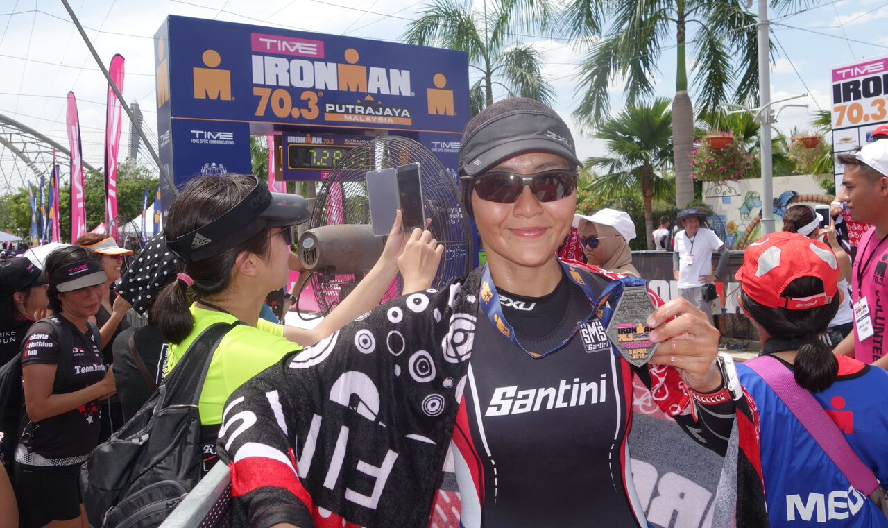 Hafiza Othman, 32 year-old mother of two will be attempting her maiden IRONMAN at Langkawi on Nov 12th. (Kam Kasturie)
