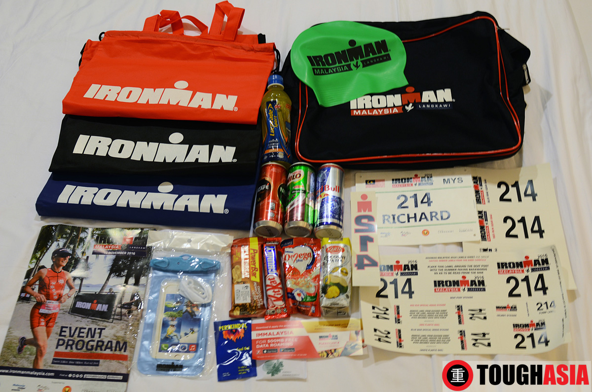 What's in the Ironman Malaysia's goodie bag?