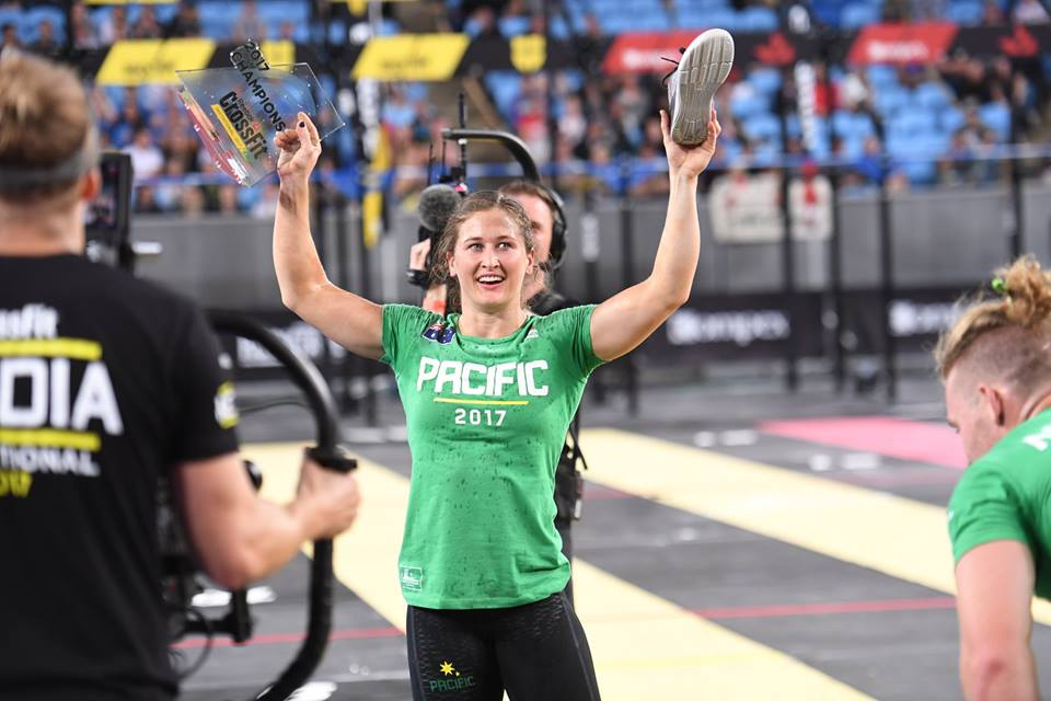 Tia Claire Toomey leads Team Pacific to win 2017 Reebok