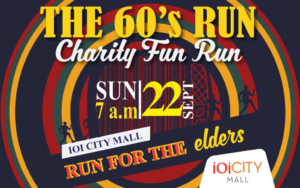 The 60's Charity Fun Run 2019 @ IOI City Mall, Putrajaya