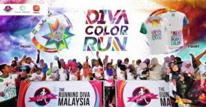 The Running Diva Malaysia Color Run (Nilai Impian) 2019 @ Sime Darby @ Nilai Impian
