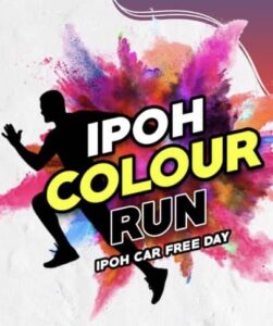 Ipoh Colour Run 2019 @ Car free day @ infront of KPJ Hospital, Ipoh, Malaysia