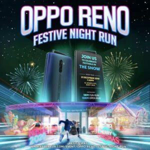 OPPO Reno Festive Night Run 2019 @ KL Sports City, Bukit Jalil