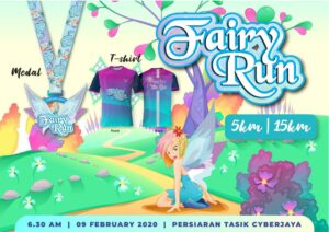 Fairy Run 2020 @ Persiaran Tasik