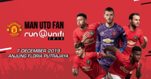 Man Utd Fan Run @ unifi @ Anjung Floria