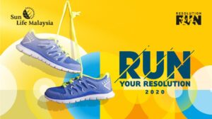 Sun Life Malaysia Resolution Run 2020 @ D' Sun Zone, Perdana Botanical Garden