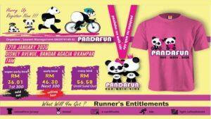 5KM Panda Fun Run Walk Ride Kampar @ Disney Avenue, Bandar Agacia, Kampar, Perak