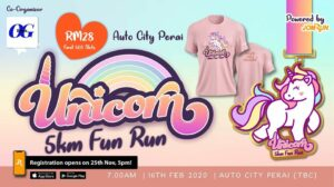 Perai Unicorn 5KM Fun Run @ Auto City Perai, Penang