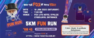 FOX Fun Run @ FOX Lite Hotel D'Pulze Cyberjaya, Entrance