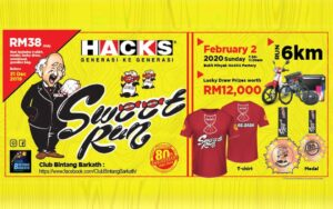 Sweet Run 2020 @ Bukit Minyak HACKS Factory
