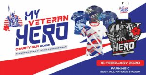 My Veteran My Hero Charity Run 2020 @ Bukit Jalil National Stadium