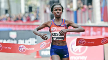 Brigid Kosgei to defend London Marathon title