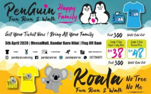 Penguin vs Koala Fun Run & Walk Series Nilai @ Bandar Baru Nilai, Near Mcd Nilai, 71800 Nilai