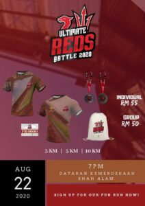 Ultimate Reds Battle 2020 @ Shah Alam Independence Square