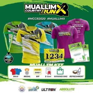 Muallim Cross Country Run 2020 @ Sarang Art Hub, Tanjung Malim⁣