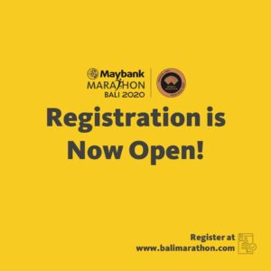 [International] Maybank Bali Marathon 2020 @ Bali