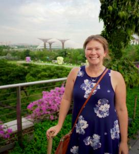 Tess in Singapore