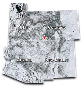 durango transportation service area map
