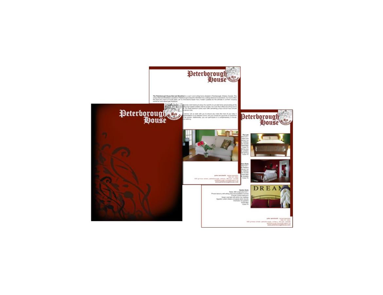 Peterborough House Corporate Package Brochure
