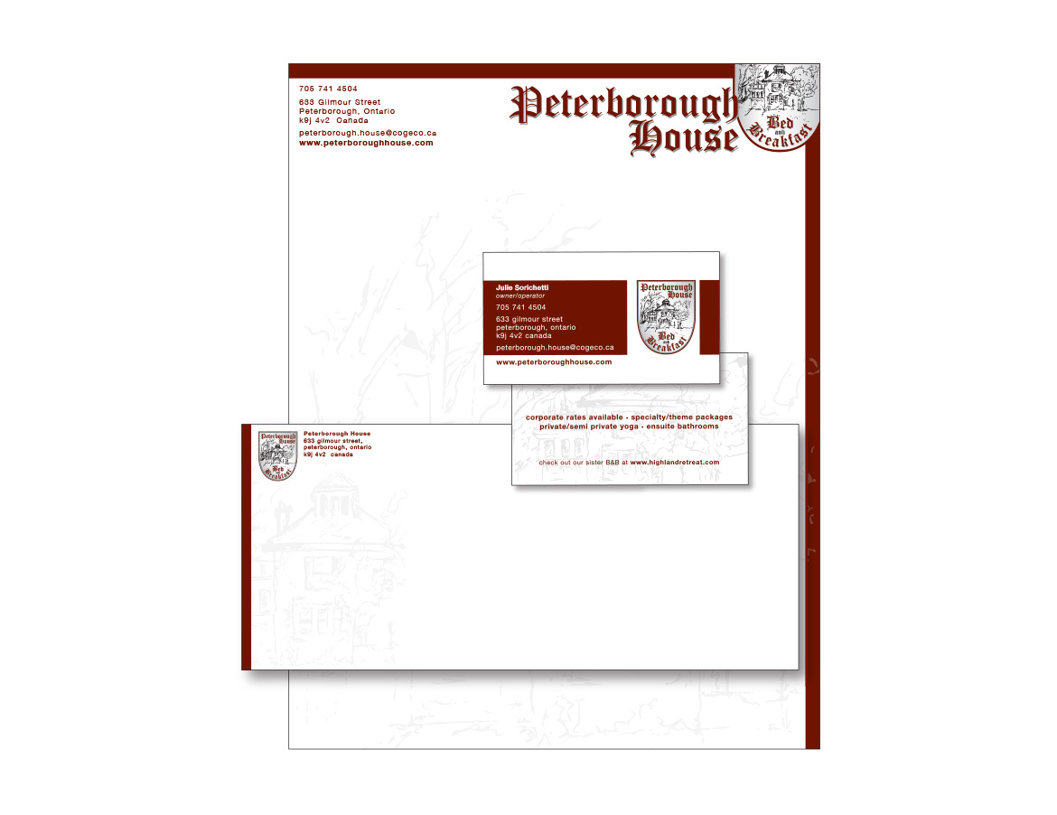 Peterborough House Stationery