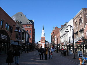 Church Street, Burlington, Vermont