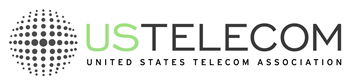 Logo of the United States Telecom Association.