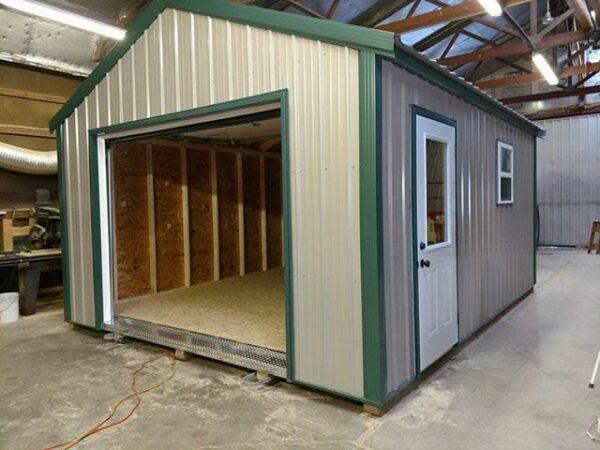 14x18 Garage - Swede's Buildings