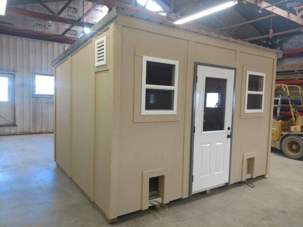 12x10 brooder house