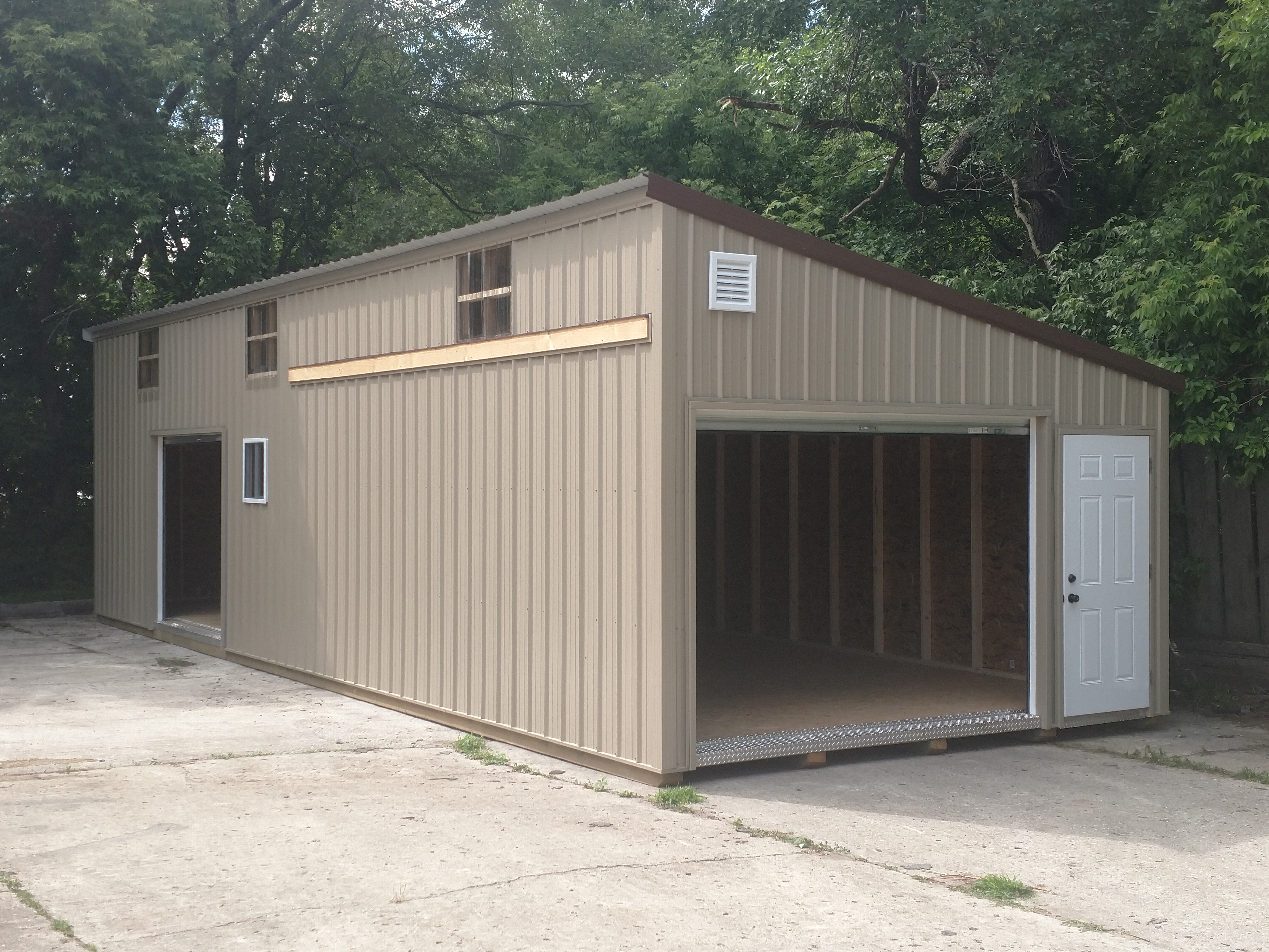 15x42 Building from Swede's Buildings, Sanborn MN