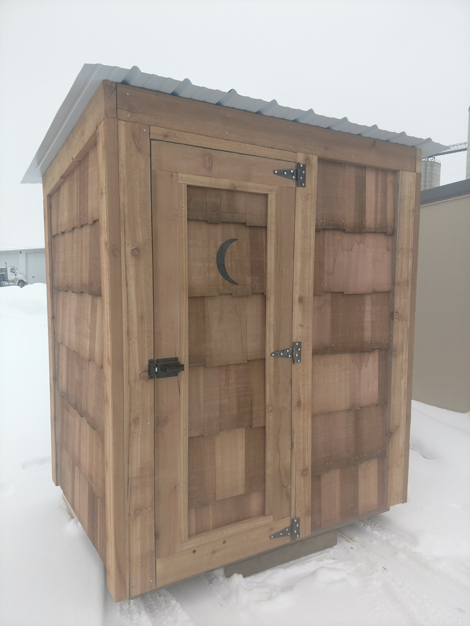 Swedes Buildings - Outhouse