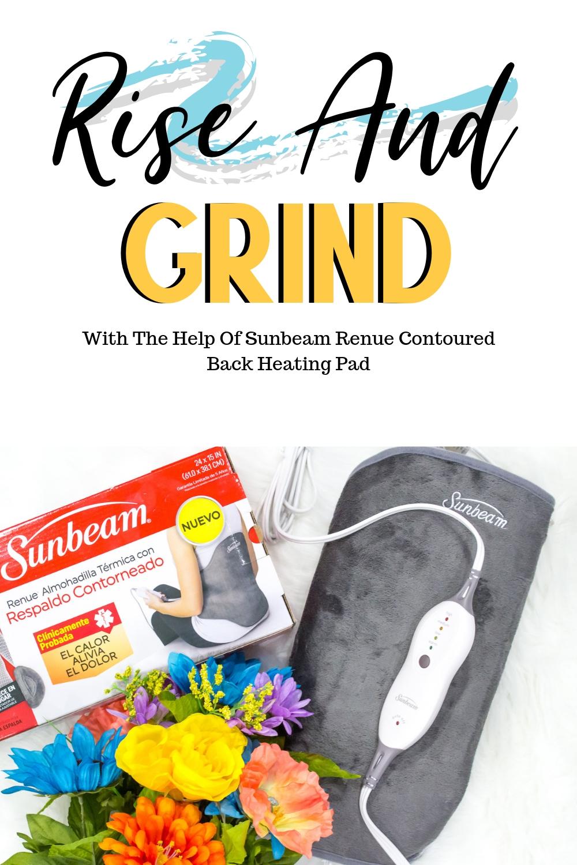 Sunbeam Renue Contoured Back Heating Pad